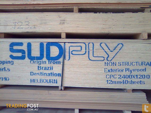 Plywood Raw 12mm