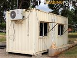 Cabin, Granny Flat, Office, Teenagers Retreat, Shack, or Just a Lunch Room (Container 20ft)