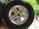 Land cruiser 200 series gxl wheels