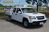 2009 HOLDEN COLORADO LX (4x4) RC MY09 CREW CAB P/UP
