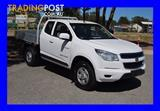 2013 HOLDEN COLORADO LX RG CAB CHASSIS