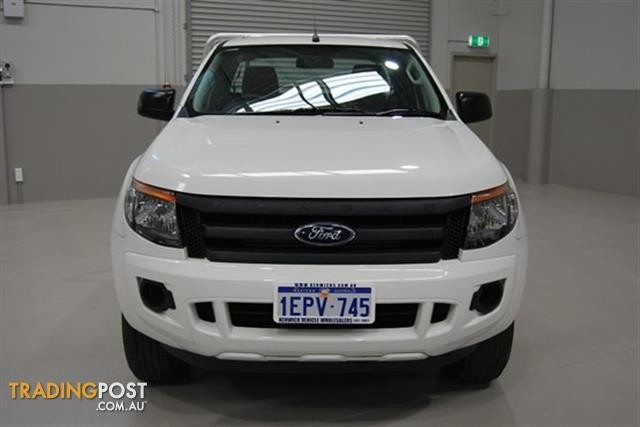 2013 FORD RANGER XL PX CAB CHASSIS