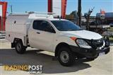 2013 MAZDA BT-50 XT UP CAB CHASSIS