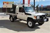 2012 TOYOTA LANDCRUISER WORKMATE VDJ79R CAB CHASSIS