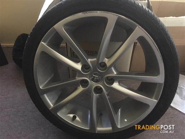 VE SSV 245/35-20 Wheels and tyres