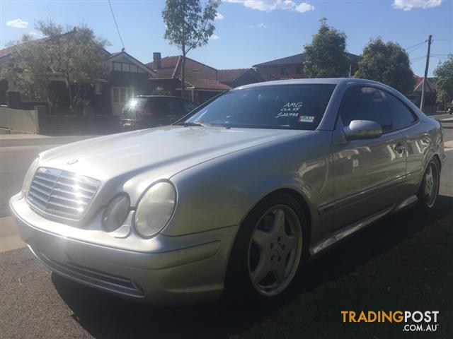 1999 mercedes benz clk55 c208 amg coupe 2dr auto 5sp for Mercedes benz clk55 amg for sale