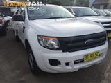 2013 Ford Ranger PX XL Cab Chassis Single Cab 2dr Man 6sp, 4x2 1306kg 2.2DT  Cab Chassis