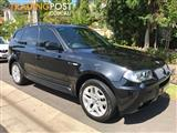 2007 BMW X3 E83 Wagon 5dr Steptronic 6sp 4WD 3.0DT [MY07]  Wagon