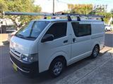 2010 Toyota Hiace KDH201R MY10 Van LWB 4dr Man 5sp, 1030kg 3.0DT  Van