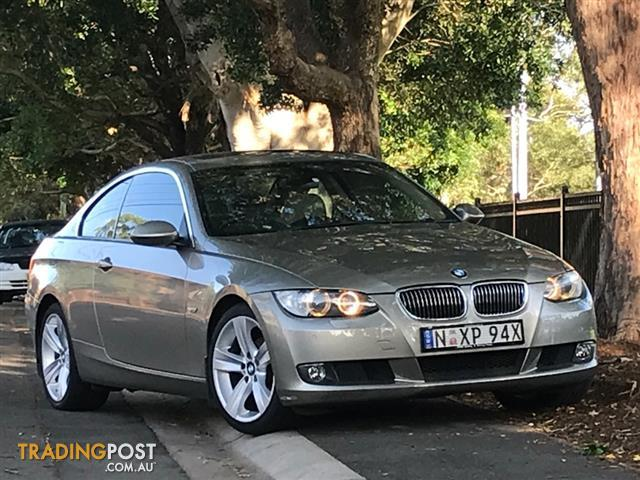 2007 bmw 325i e92 coupe 2dr steptronic 6sp coupe for. Black Bedroom Furniture Sets. Home Design Ideas