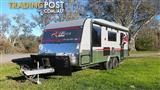 Red Centre Kimberley 20ft 6inch Offroad Caravan