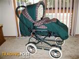 EMMALJUNGA PRAM / STROLLER IN EXCELLENT CLEAN CONDITION