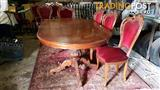 Vintage style dining table