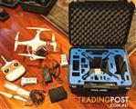 DJI Phantom 2 drone gopro gimbal batteries chargers sphere case