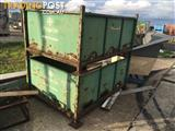 Stackable Stillages 4 sided - containers storage - pallet - skid - skip