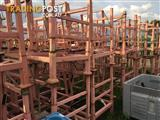 Stillage cage pallet skip skid storage stackable bin container storage