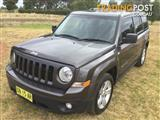 2014 JEEP PATRIOT LIMITED (4x4) MK MY14 4D WAGON