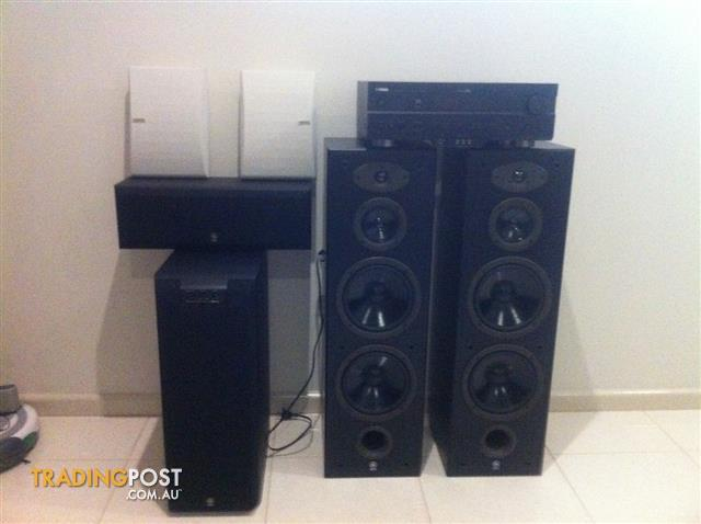 Yamaha surround sound system for sale in moorabbin vic for Yamaha surround sound manual