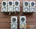 3 Phase Clipsal Power Switches 10 Amp, 15 Amp and 20 Amp