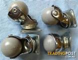 Set of Four (4) New Ball Castor Wheels (50mm)