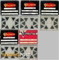 NEW VALENITE TEG 322J Carbide Inserts, Grade VC-2 10 inserts/pack