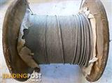 New 5mm Construction Grade Galvanized Wire Rope