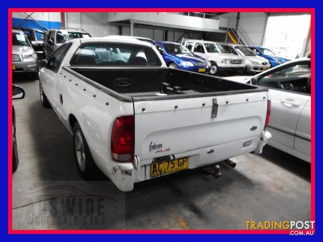 2000  Ford Falcon Ute XLS AU II Cab Chassis