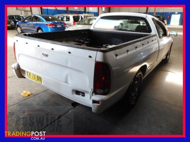 2002  Ford Falcon Ute XLS BA Cab Chassis