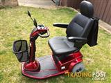 AS NEW - Mobility Scooter Pride Celebrity Deluxe (3 Wheel)