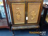 Old Chinese cabinet which swivels