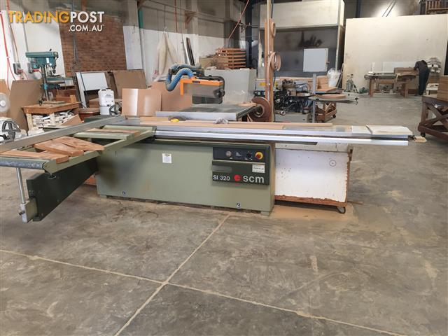 Panel Saw For Sale >> Scm Si 320 Panel Saw For Sale