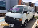 WRECKING TOYOTA Hiace 2002 RZH Van Automatic Petrol