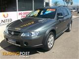 2003 HOLDEN ADVENTRA CX8 VYII 4D WAGON