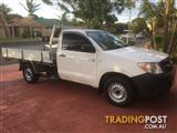 2006 TOYOTA HILUX WORKMATE TGN16R C/CHAS