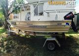 **QUINTREX 370 TRAVELLER BOATING PACKAGE**