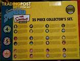 Simpsons 25 piece collectors set - Pick up only