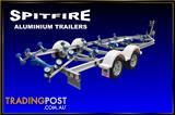 Aluminium Boat trailers Dual Axle from $5,795