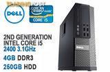 Dell Optiplex 790 Computer Intel Core i5 3.10GHz 4GB RAM 250GB HDD