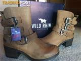 FABULOUS WILD RHINO ANKLE BOOTS
