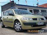2005 RENAULT MEGANE AUTHENTIQUE X84 5D HATCHBACK