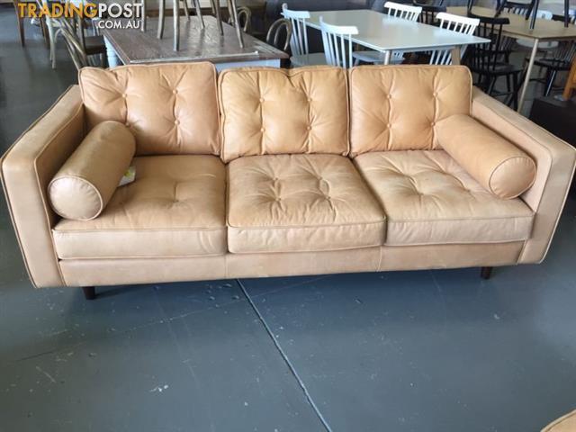 Pleasing Copenhagen Leather 2 5 Seat Sofa Machost Co Dining Chair Design Ideas Machostcouk