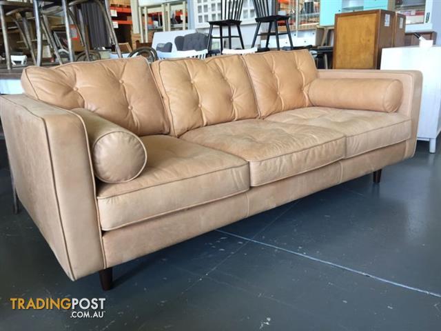 Miraculous Copenhagen Leather 2 5 Seat Sofa Machost Co Dining Chair Design Ideas Machostcouk