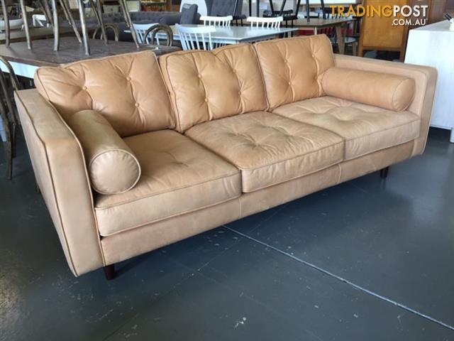 Copenhagen Leather 2 5 Seat Sofa, Freedom Leather Sofa Review