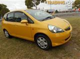 2006 HONDA JAZZ GLI GD HATCHBACK