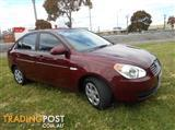 2007 HYUNDAI ACCENT SLX MC SEDAN