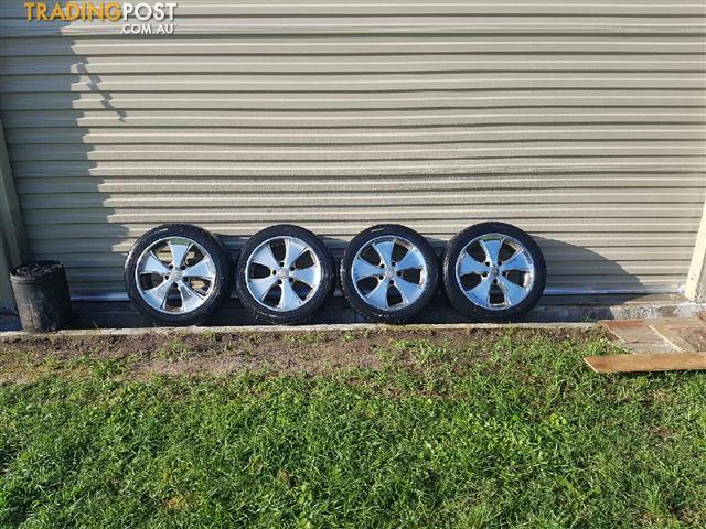 HOLDEN MAG RIMS TO SUIT VT