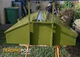 TRAILER 6x4 with Lockable Canopy + Cage