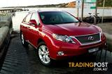 2010 LEXUS RX450h SPORTS LUXURY GYL15R 11 UPGRADE 4D WAGON