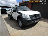 2005 HOLDEN RODEO DX (4x4) RA MY05.5 UPGRADE C/CHAS