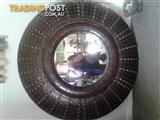 Hand-crafted mirror